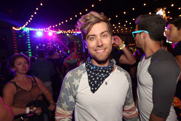 Lance Bass NYLON And Olay Fresh Effects Present Neon Carnival With GUESS