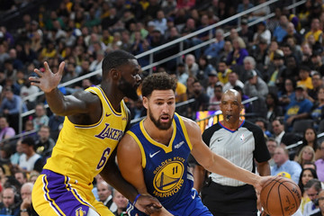 Lance Stephenson Golden State Warriors vs. Los Angeles Lakers