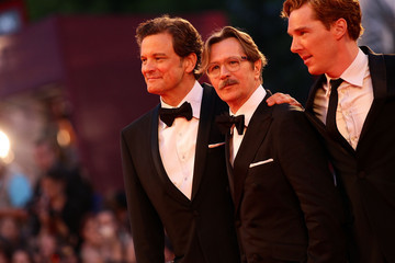 Gary Oldman Colin Firth Lancia On The Red Carpet At The 68th Venice Film Festival - September 5, 2011