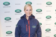 In this handout photo supplied by the Land Rover, Zara Phillips attends the launch of Land Rover's 'New Discovery' at Packington Hall on September 27, 2016 in Solihull, England.