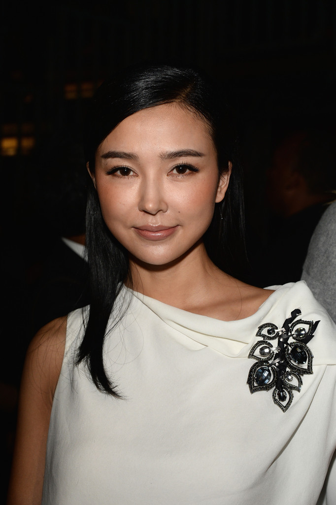 Yao Xingtong in PFW: Front Row at Lanvin - Zimbio Xingtong Yao