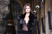 Taylor Hill at Lanvin - The Best Front Row Fashions at Paris Fashion Week Spring 2017