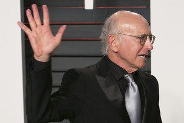 Larry David 2016 Vanity Fair Oscar Party