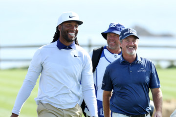 Larry Fitzgerald AT&T Pebble Beach Pro-Am - Round Three