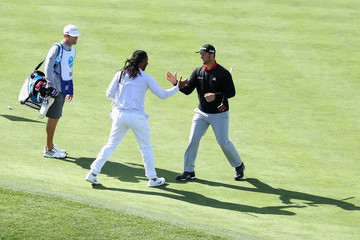 Larry Fitzgerald AT&T Pebble Beach Pro-Am - Final Round