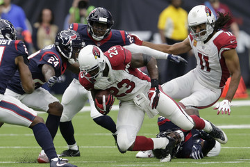 Larry Fitzgerald Arizona Cardinals v Houston Texans