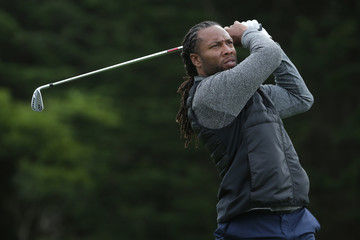 Larry Fitzgerald AT&T Pebble Beach Pro-Am - Round One