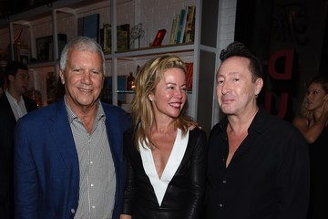 Larry Gagosian Aby Rosen And Samantha Boardman Host Their Annual Dinner At The Dutch W Hotel South Beach