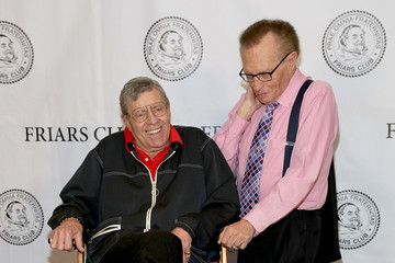 "Larry King Friars Club Celebrates Jerry Lewis And 50th Anniversary Of ""The Nutty Professor"" - Arrivals"