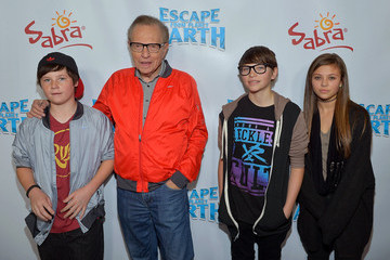 """Larry King Cannon King """"Escape From Planet Earth"""" Premiere Presented By The Weinstein Company In Partnership with Sabra"""