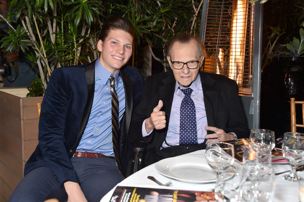 Friars Club Honors Larry King For His 86th Birthday At The Crescent Hotel [event,restaurant,suit,white-collar worker,dinner,formal wear,meal,lunch,businessperson,brunch,larry king,honors,honors,the crescent hotel,beverly hills,california,friars club,chance armstrong king,birthday,birthday]