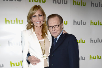 Larry King Shawn Southwick HULU Presents Original And Exclusive Series At 2012 TCA Summer Press Tour