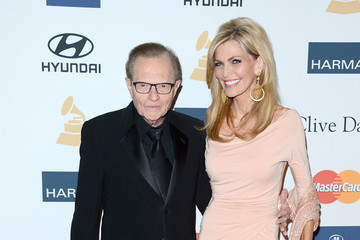 """Larry King Shawn Southwick Clive Davis & The Recording Academy's 2013 Pre-GRAMMY Gala And Salute To Industry Icons Honoring Antonio """"L.A."""" Reid - Arrivals"""
