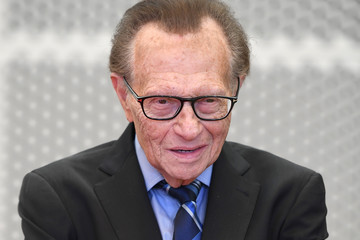 Larry King 68th Los Angeles Area Emmy Awards - Arrivals