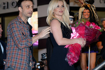Larry Rudolph Britney Spears Welcome Ceremony At Planet Hollywood Resort & Casino