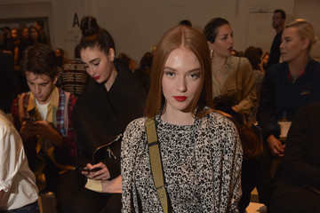 Larsen Thompson Barragan - Front Row - September 2017 - New York Fashion Week Presented by MADE