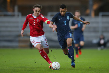 Lasse Vigen Christensen Denmark v England: U21 International Friendly