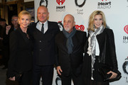 (L-R) Trudie Styler, Sting, Billy Joel and Alexis Roderick attend the opening night of 'The Last Ship' on Broadway at The Neil Simon Theatre on October 26, 2014 in New York City.