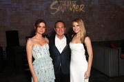 Maia Mitchell, Bill Bindley and Halston Sage attend a special screening of Netflix's 'The Last Summer' at the TCL Chinese Theatre on April 29, 2019 in Los Angeles, California.