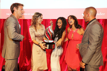 Melanie Sykes Sarah-Jane Crawford The Launch of the London Grand Prix by Santander at the Royal Automobile Club London