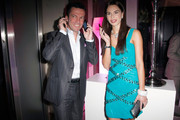 (EXCLUSIVE ACCESS)Liliana Matthaeus (R) & Lothar Matthaeus attend the 'Launch of the new Windows Phone by Deutsche Telekom' at Hotel de Rome on October 20, 2010 in Berlin, Germany.