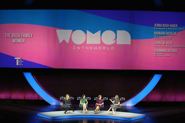 Laura Bush Tina Brown's 7th Annual Women In The World Summit - Day 1