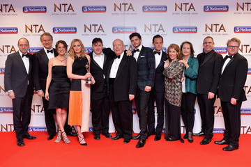 Laura Carmichael National Television Awards - Winners Room
