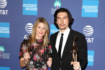 Laura Dern Adam Driver 31st Annual Palm Springs International Film Festival Film Awards Gala - Backstage