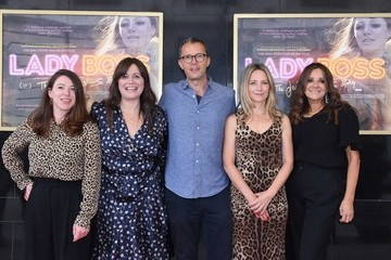 """Laura Fairrie """"Lady Boss: The Jackie Collins' Story"""" UK Premiere - Photocall"""