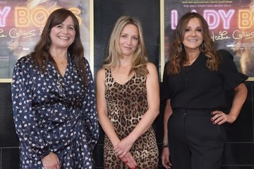 """Laura Fairrie Tracy Lerman """"Lady Boss: The Jackie Collins' Story"""" UK Premiere - Photocall"""