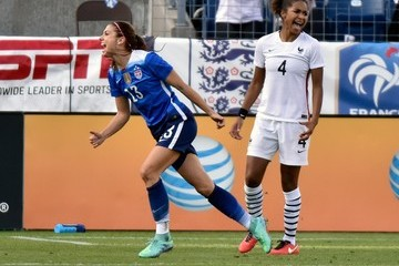 Laura Georges 2016 SheBelieves Cup - United States v France