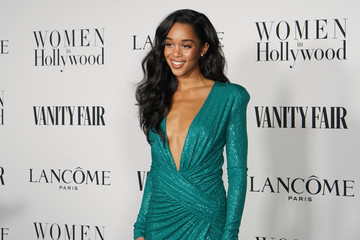Laura Harrier Vanity Fair and Lancôme Women In Hollywood Celebration