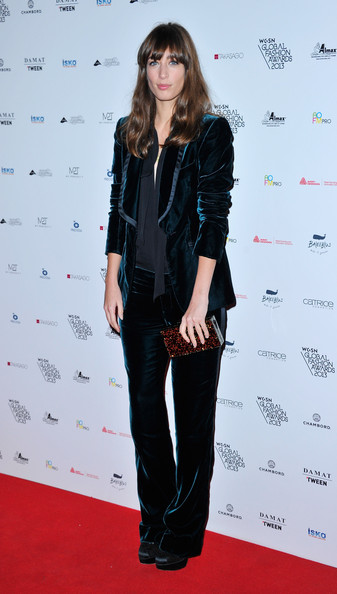Laura Jackson - Arrivals at the WGSN Global Fashion Awards