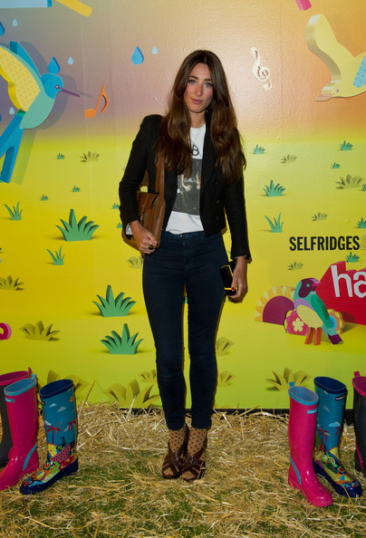 Laura Jackson - Havaianas Wellies - Launch Party