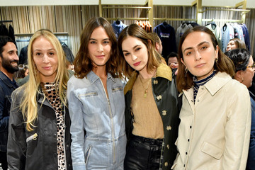 Laura Love Alexa Chung Celebrates Barbour By ALEXACHUNG Fall 2019 Collection At Nordstrom