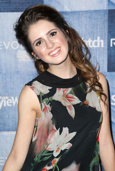 Laura Marano - Arrivals at the People StyleWatch Denim Event