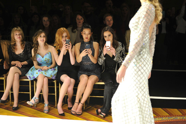 Sherri Hill - Front Row - Fall 2016 New York Fashion Week: The Shows