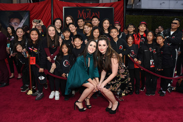 "Laura Marano Disney's ""Mulan"" World Premiere - Red Carpet - Fan Pen"