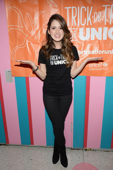 Laura Marano - Trick-or-Treat for UNICEF Celebration in NYC