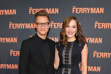 Laura Osnes Nathan Johnson 'The Ferryman' Broadway Opening Night - Arrivals