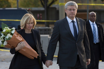 Laureen Harper Ottawa on Alert After Shootings at Nation's Capitol