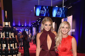 Lauren Alaina Moet & Chandon at the 51st Annual CMA Awards - Red Carpet