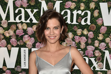 Lauren Cohan Max Mara Celebrates Zoey Deutch - The 2017 Women in Film Max Mara Face of the Future