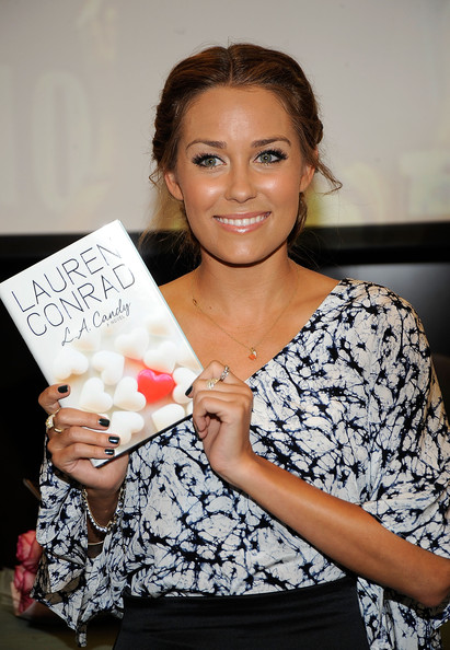 "Lauren Conrad TV Personality Lauren Conrad attends her ""LA Candy"" Book Signing at Barnes and Noble, The Grove on June 16, 2009 in Los Angeles, California."