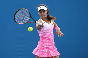Lauren Davis Australian Open: Day 2