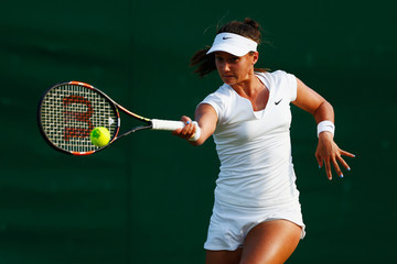 Lauren Davis Day Three: The Championships - Wimbledon 2015