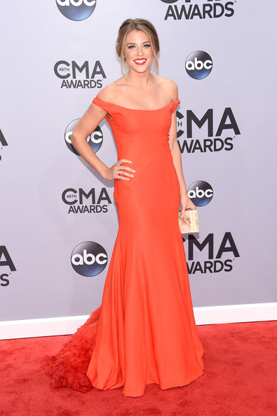 Lauren Gregory Lauren Gregory attends the 48th annual CMA Awards at ...