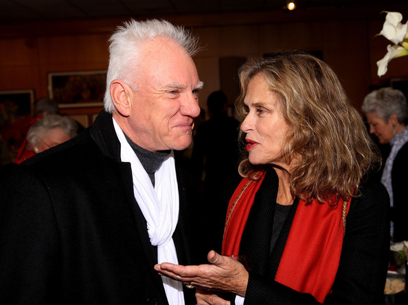 Lauren Hutton and Malcolm Mcdowell - AMPAS' Opening Reception For Their Winter Exhibit