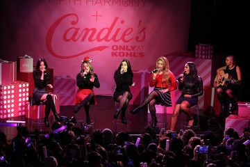 Lauren Jauregui Dinah Jane Fifth Harmony Performs At The Candie's Winter Bash In NYC