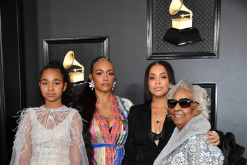 Lauren London Emani Asghedom 62nd Annual GRAMMY Awards - Arrivals